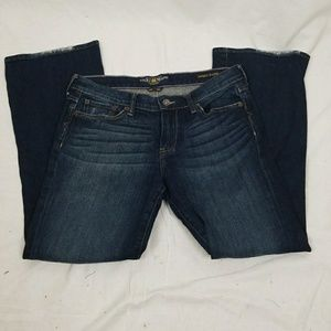 LUCKY BRAND SWEET N LOW BLUE JEANS SIZE 10/30